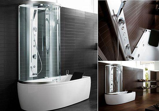 Что выбрать – ванну или душевую кабину