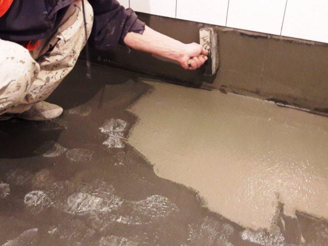 Какая бывает гидроизоляция для ванной под плитку и как сделать своими руками
