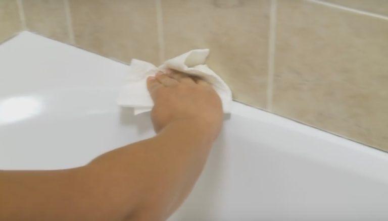 Как приклеить бордюр на ванну за 8 минут: пошаговая инструкция