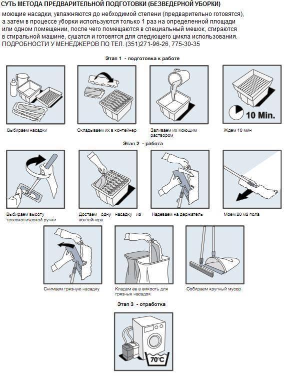 Средство для моющего пылесоса: выбор и применение