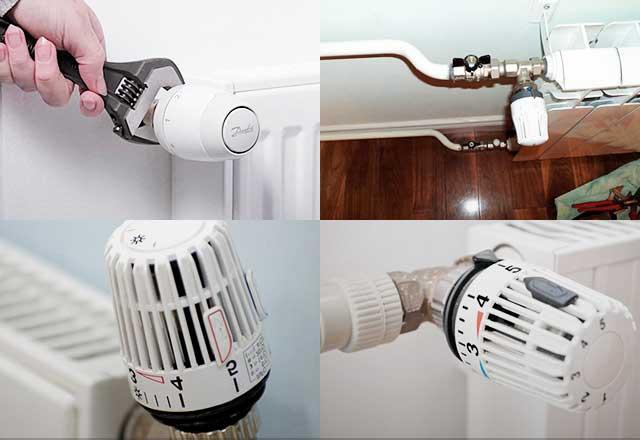 Для чего нужна и как работает термоголовка на радиаторе отопления