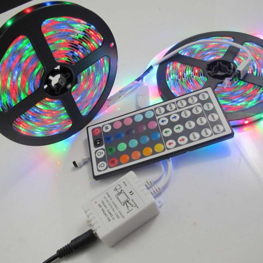 Как соединить светодиодные ленты между собой
