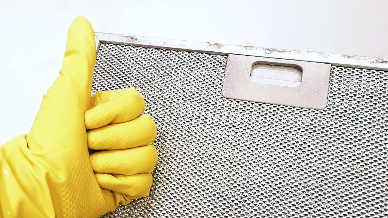 Как почистить вытяжку от жира: проверенные способы