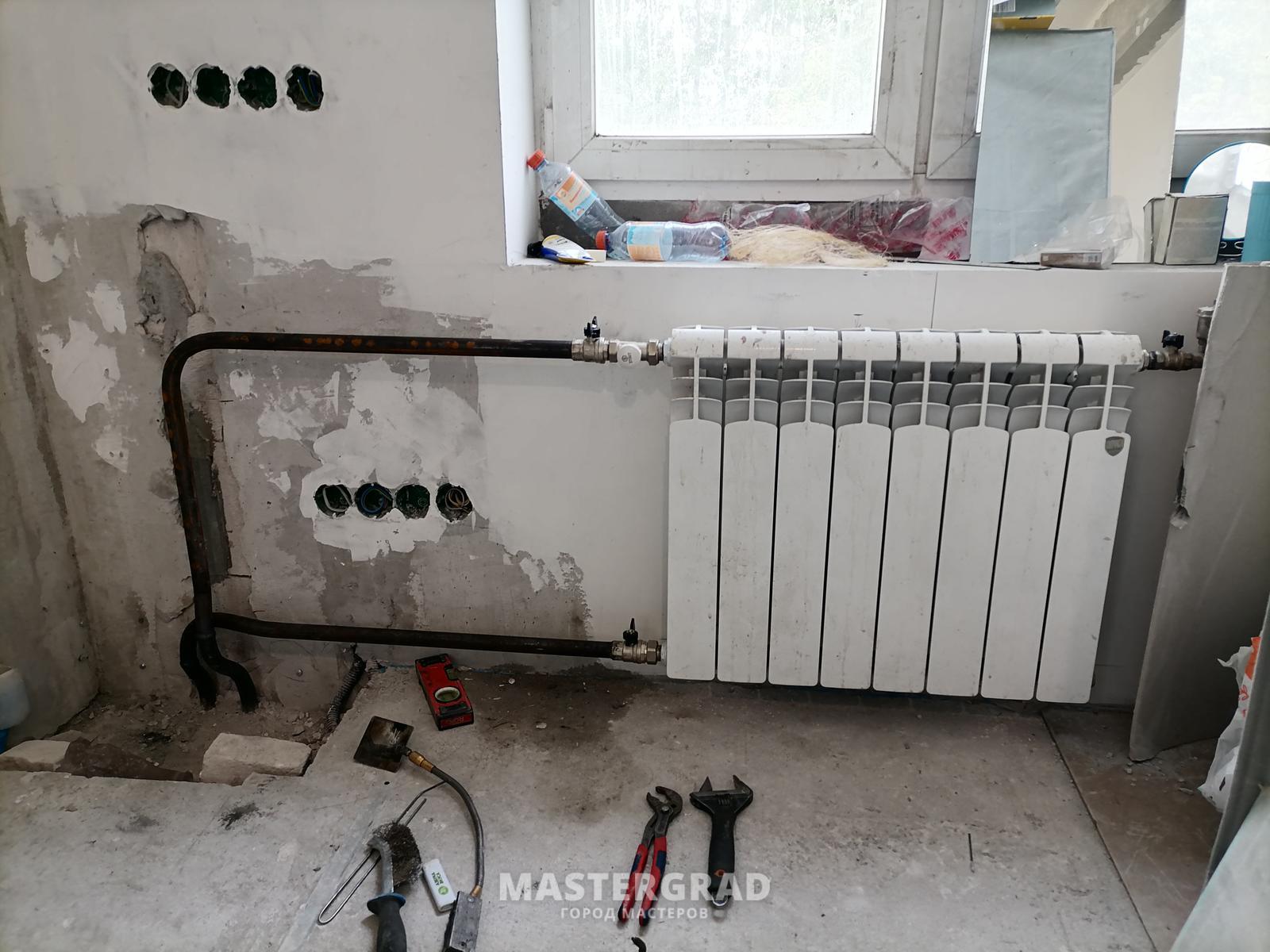 Замена батарей газосваркой: установка радиаторов отопления, газосварочные работы труб, как работать, видео