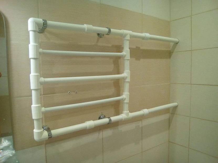 Как установить полотенцесушитель в ванной самостоятельно за 6 шагов