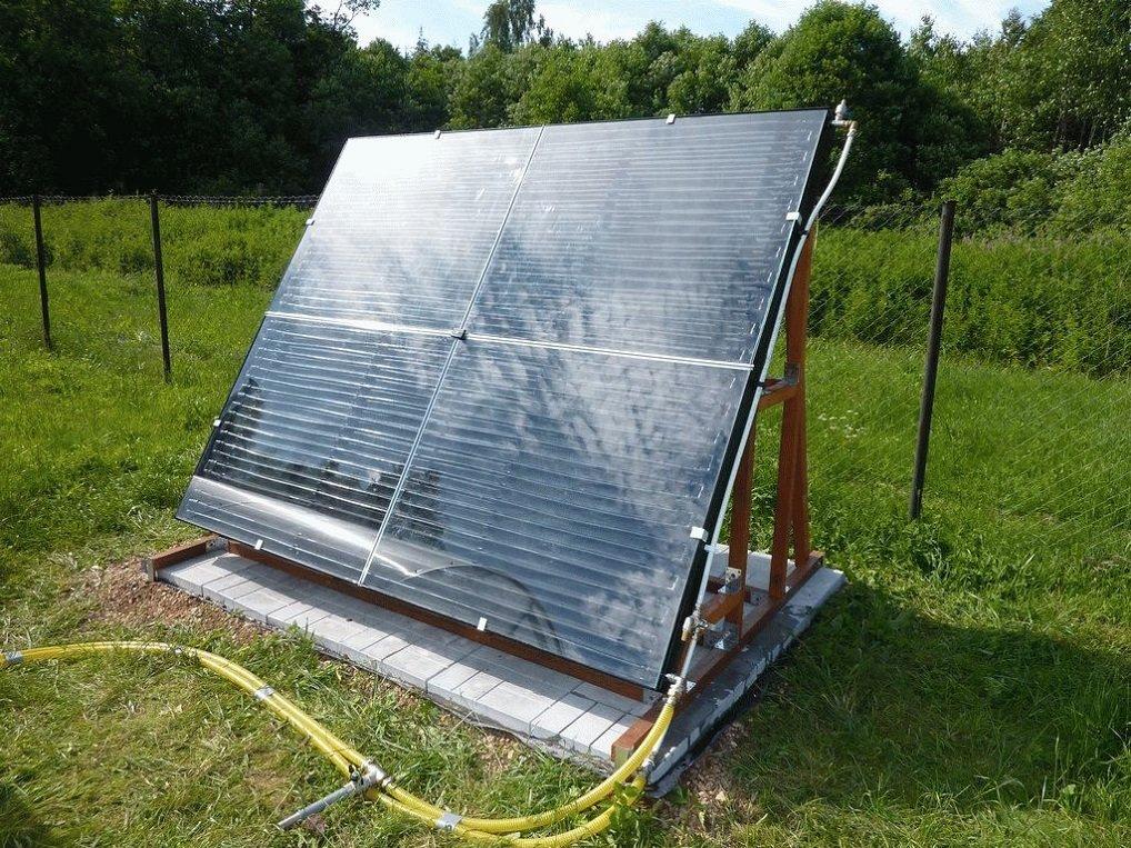Солнечный коллектор для отопления дома своими руками: как сделать самостоятельно с минимальными затратами
