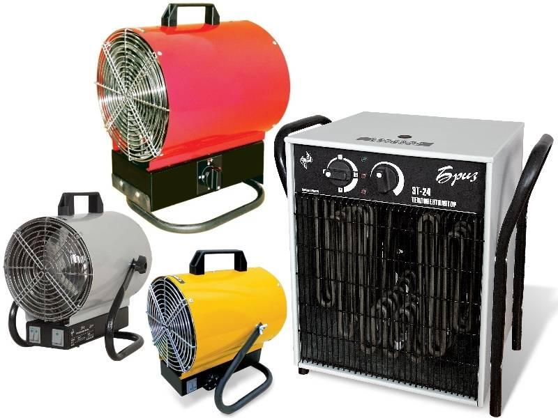 Выбираем тепловые пушки для обогрева гаража