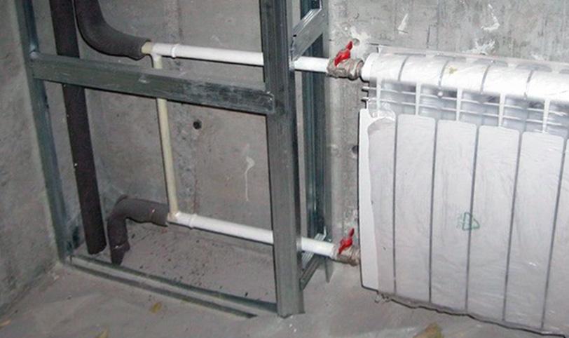 Звукоизоляция труб и радиаторов отопления: как сделать свою систему отопления потише