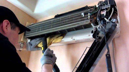 Снятие кондиционера: инструкция по демонтажу своими руками