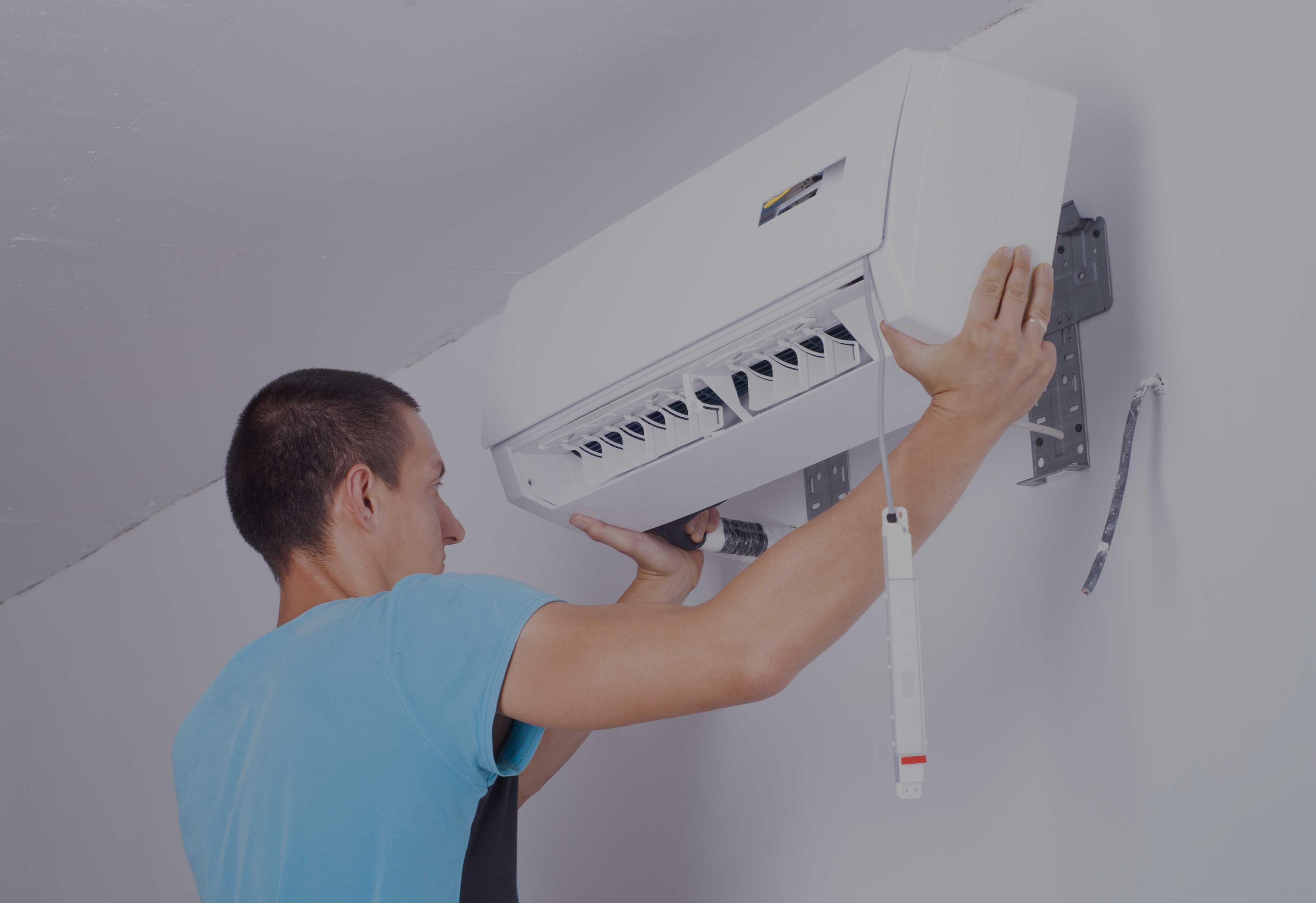 Установка кондиционера в квартире или частном доме: пошаговая инструкция для монтажа своими руками | фото & видео