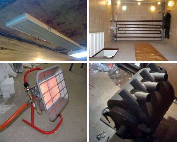 Отопление гаража: самый экономный способ, как сделать своими руками