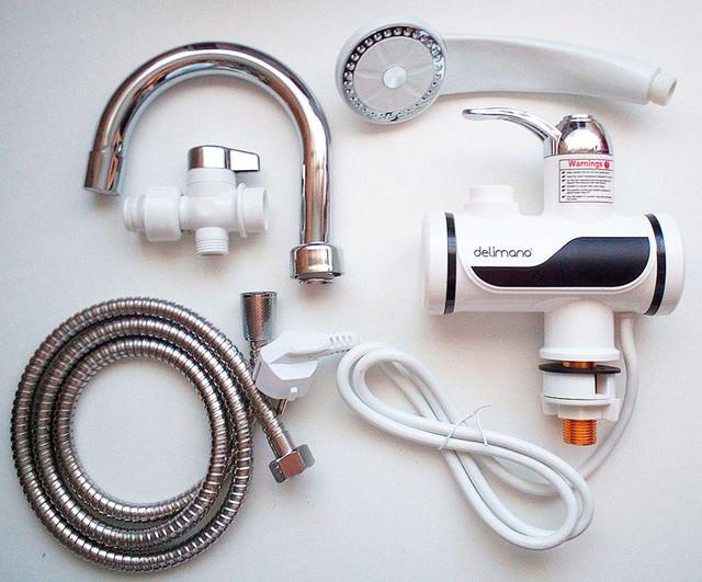 Плюсы и минусы проточных электрических водонагревателей на кран