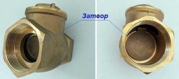 Обратный клапан для отопления схема подключения и технические параметры