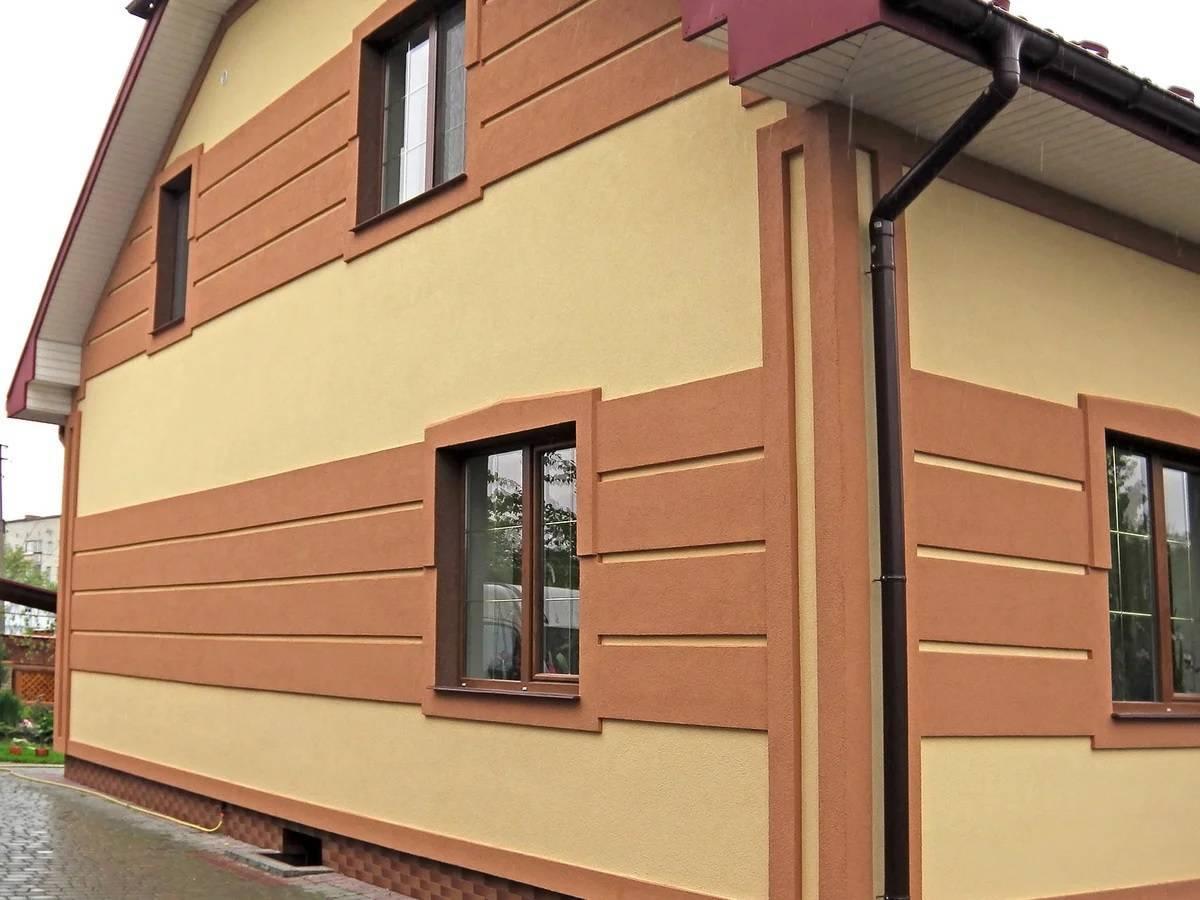 Обшивка деревянного дома фасадными панелями для внешней отделки