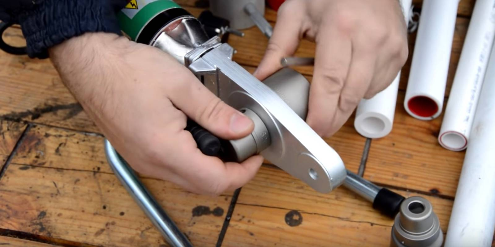 Пайка полипропиленовых труб своими руками: технология, инструкция, видео