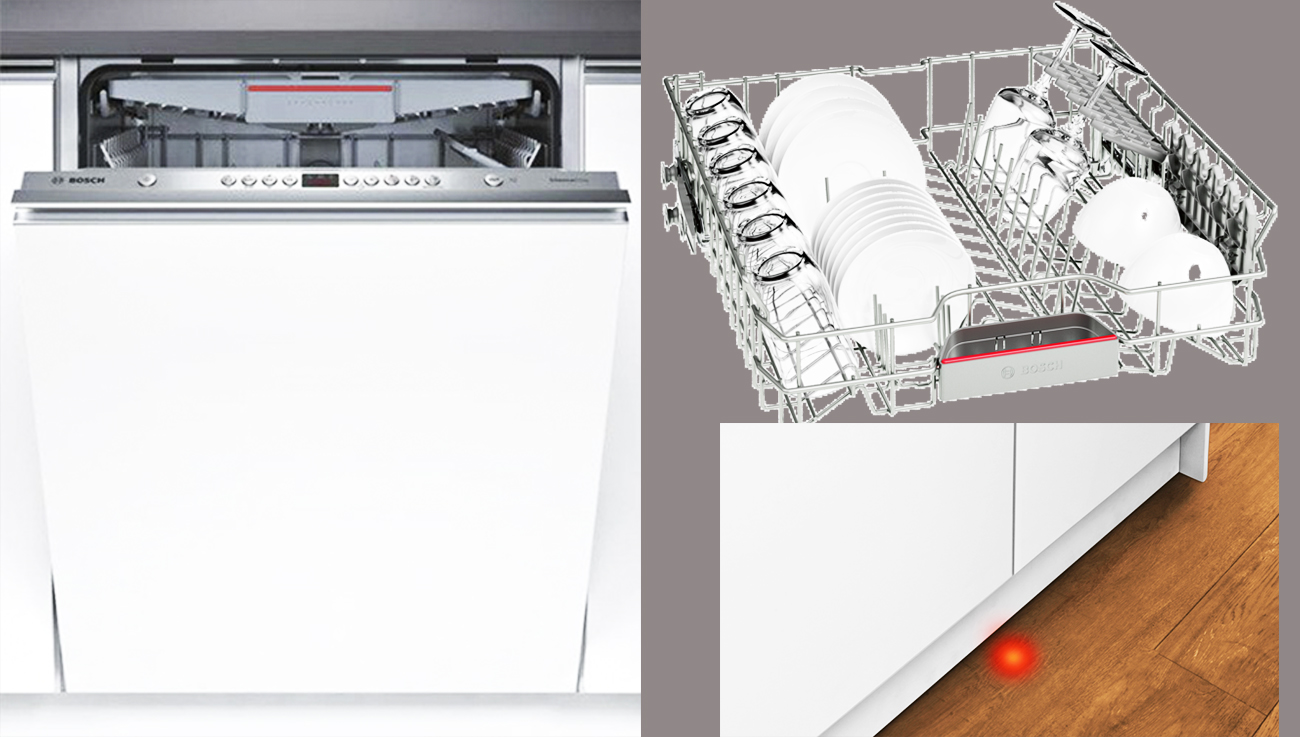 Встраиваемая посудомоечная машина bosch smv44kx00r silenceplus с лаконичным дизайном