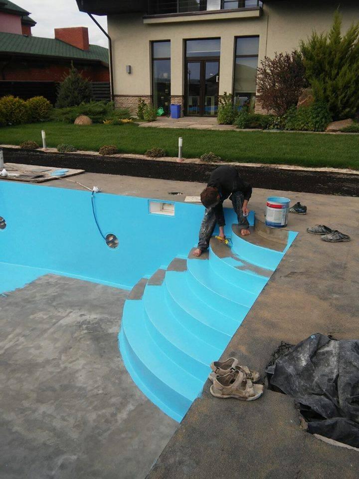 Виды гидроизоляции бассейна