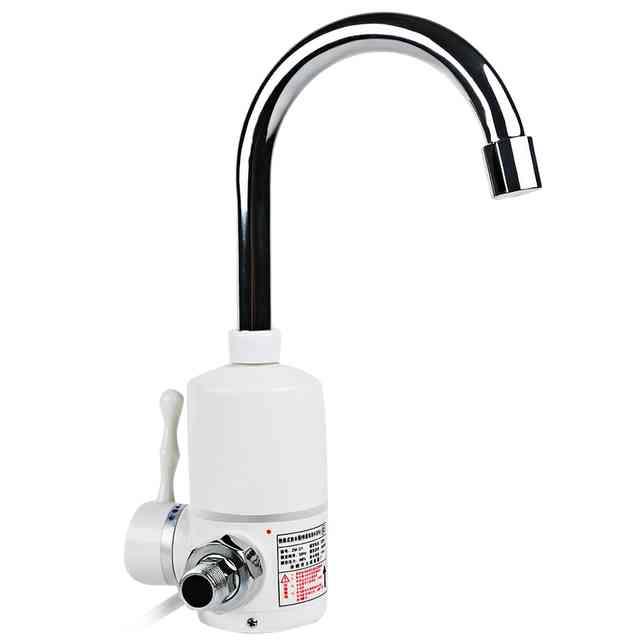 Проточный электрический водонагреватель на кран - как выбрать и установить