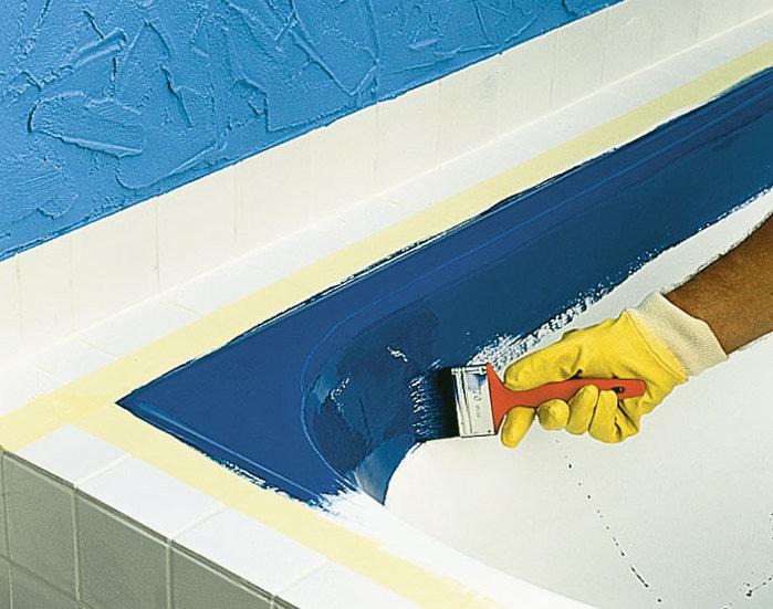 Покрытие ванны эмалью или акрилом: что лучше?