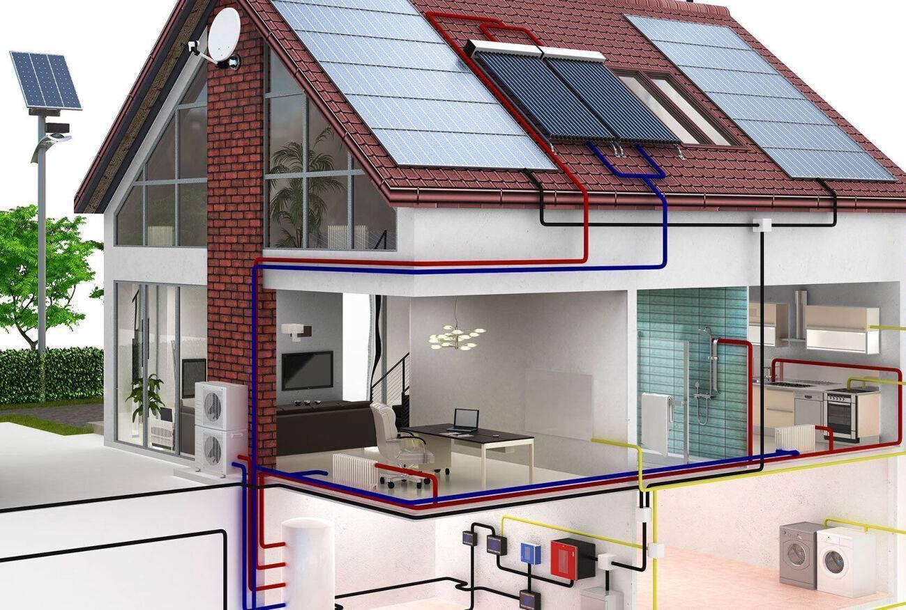Дом с инфракрасным отоплением