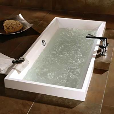 Ванны для ванной комнаты — разновидности, характеристики и фото