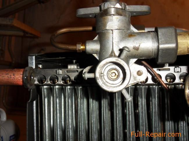 Устройство и ремонт газовой колонки нева 4511 своими руками