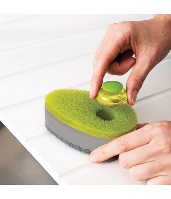 Как используют кухонные губки изобретательные хозяйки