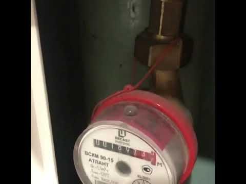 Почему счетчик горячей воды работает с перебоями. что делать, если счетчик горячей воды не крутится
