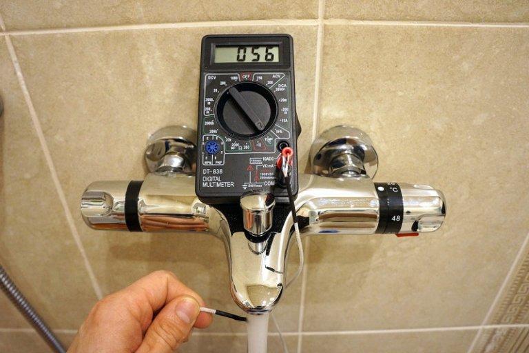 Смеситель термостатический для ванны и душа: устройство, правила выбора