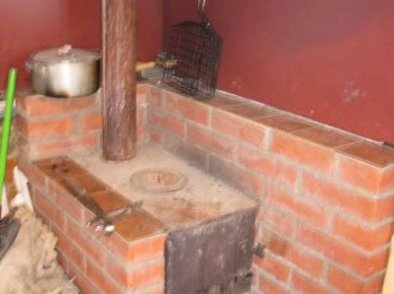 Как обложить кирпичом железную печь: выбор раствора для кладки и кирпича, укладка кирпичных рядов, очищение кладки от раствора