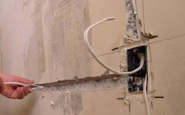 Замена старой электропроводки в частном доме или квартире