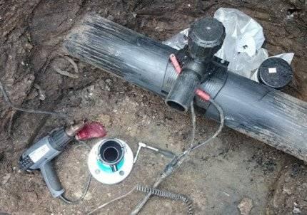 Отключающие устройства внутридомовых газопроводов. футляр