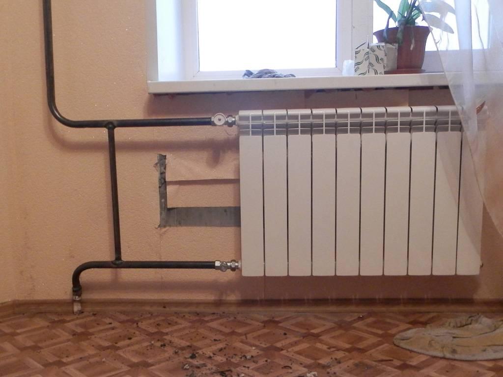 Бесплатная замена батарей отопления в квартире закон
