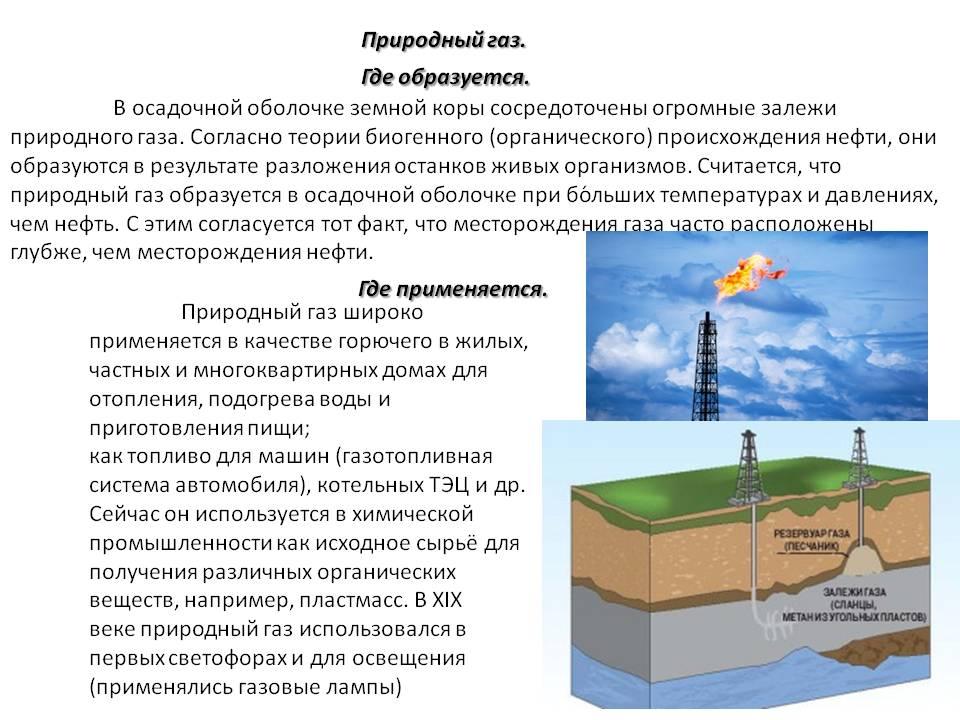 Добыча газа: способы и технология