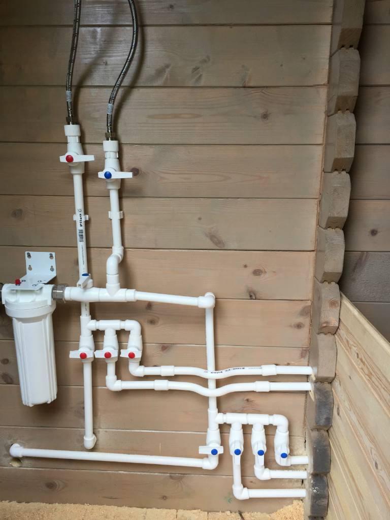 Качественный и быстрый монтаж водопровода из полипропиленовых труб своими руками