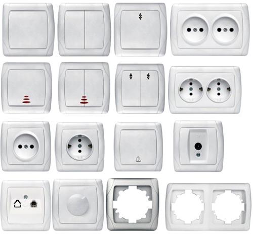 Как выбрать розетки и выключатели для квартиры