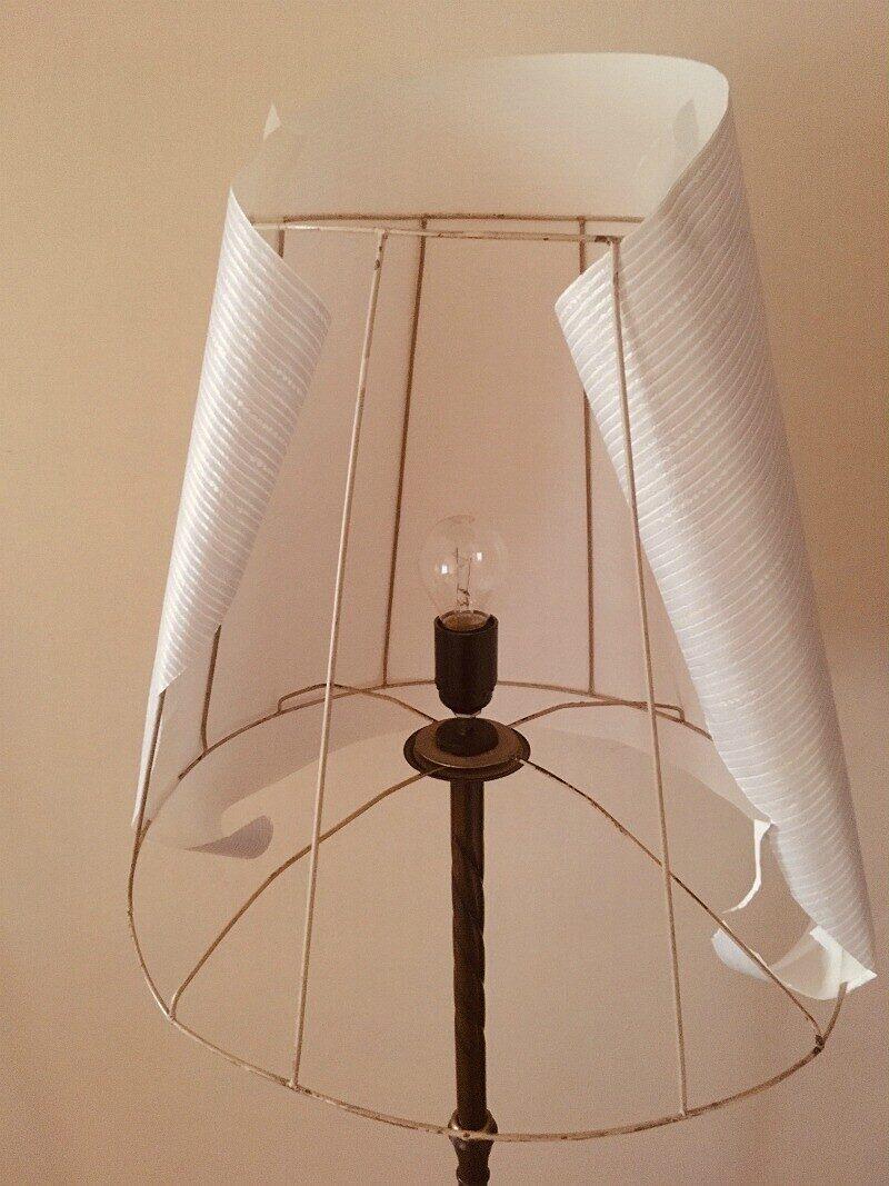Абажур своими руками: для торшера, настольной лампы, люстры