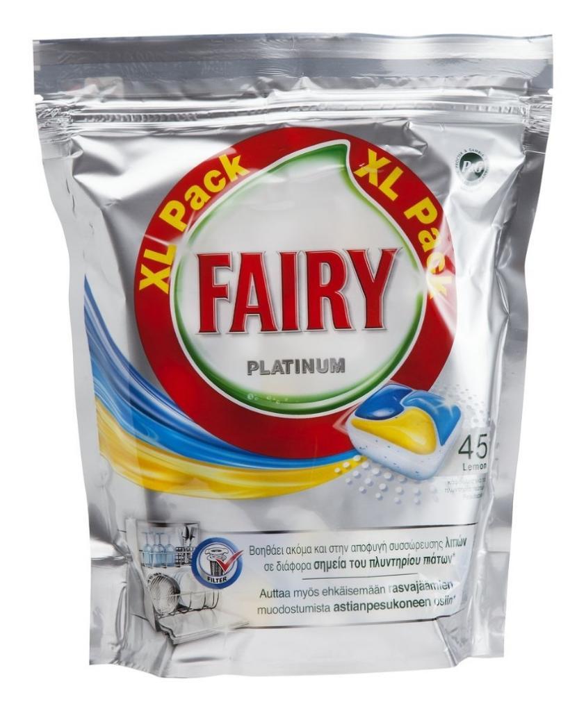 Обзор про таблетки для посудомоечной машины fairy
