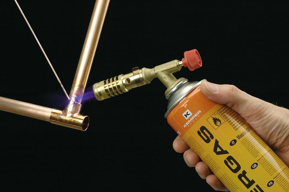 Припой для пайки меди газовой горелкой: твердые, мягкие, с серебром