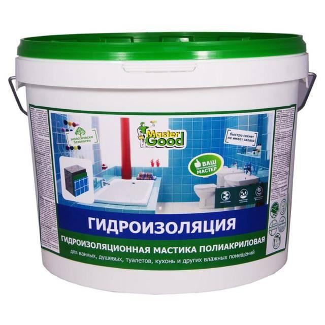 Гидроизоляция в ванной комнате своими руками: сравнительный обзор материалов + монтажный инструктаж