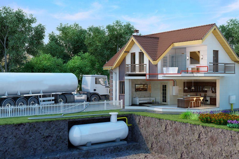 Минигазгольдеры для загородного дома: цены, установка под ключ — «реал-инвест»