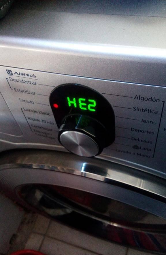 Стиральная машина самсунг: все коды ошибок на дисплее, как устранить