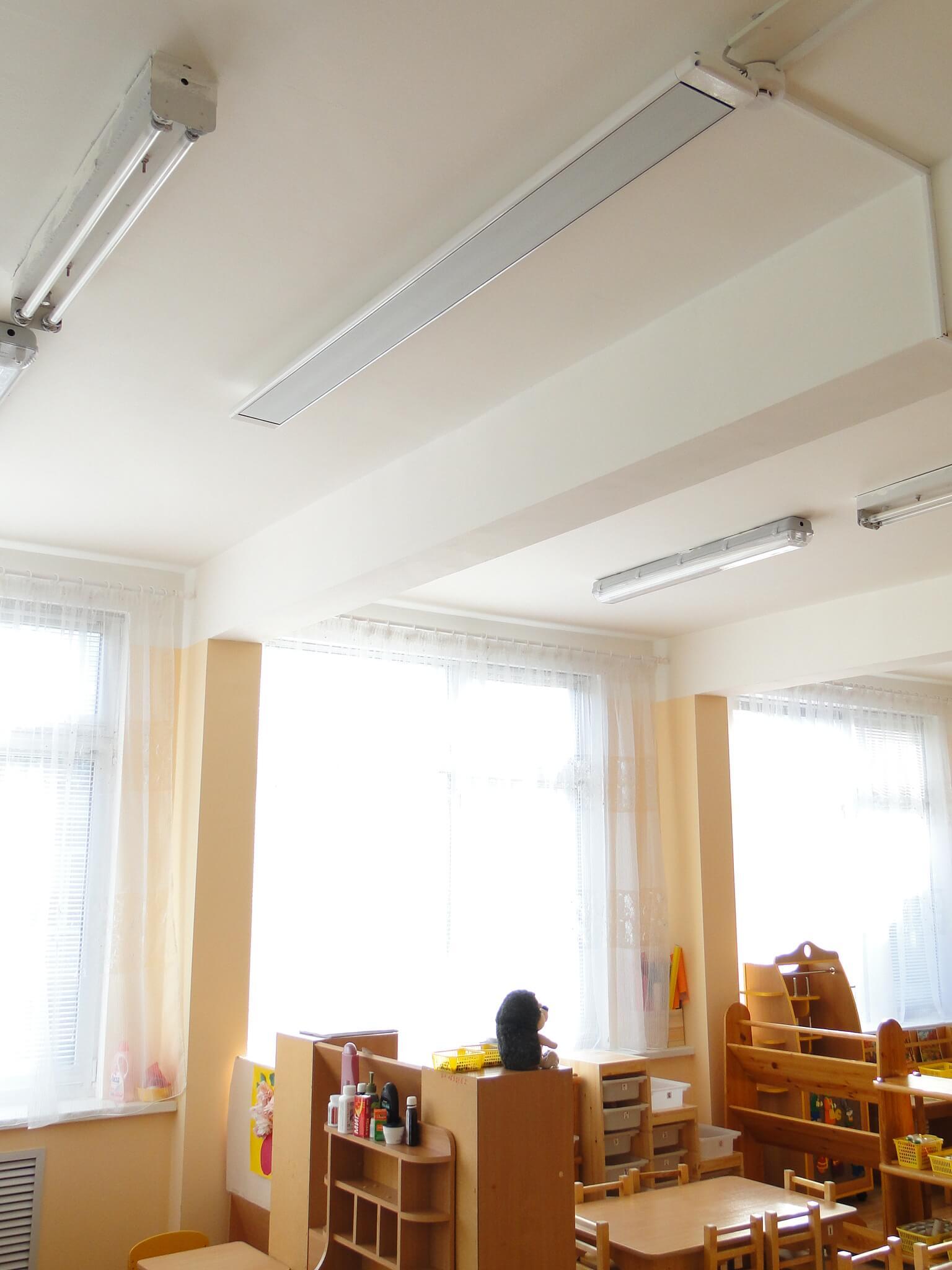 5 лучших потолочных инфракрасных обогревателей