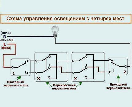 Схема подключения выключателя - типовые схемы и пошаговая инструкция по монтажу (115 фото и видео)
