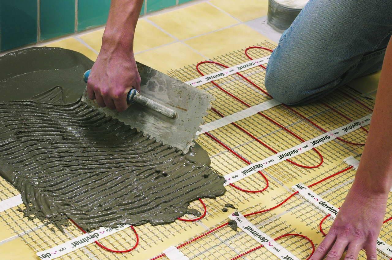 Инфракрасный теплый пол под линолеум: подробный пошаговый инструктаж по укладке
