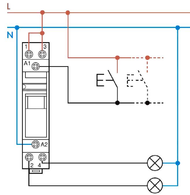 Импульсное (бистабильное) реле. устройство и подключение. – самэлектрик.ру