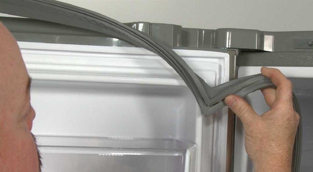 Замена уплотнительной резинки на двери холодильника: чем и как правильно закрепить