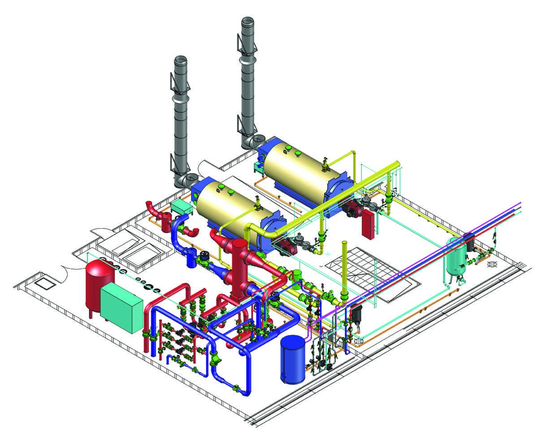 Проектирование газоснабжения жилых и общественных зданий