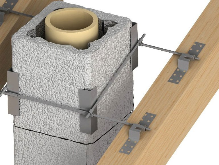 Как сооружается керамический дымоход: специфика монтажа дымового канала из керамики