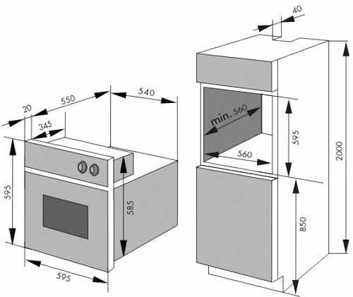 Монтаж встраиваемой духовки: пошаговая инструкция по подготовке и установке, правила и особенности